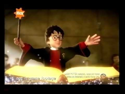 Harry Potter and the Philosopher's Stone the Video Game UK 2002 Advert
