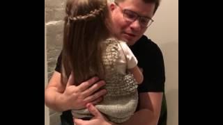 Дочь поздравляет с Днём рождения Гарика Харламова!!!