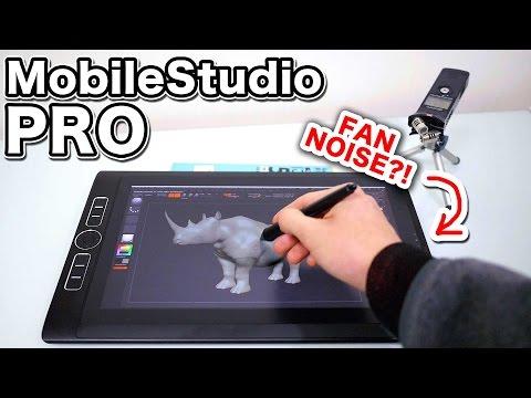 "Wacom Tablette graphique MobileStudio Pro 16"" - 256Go"