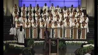 'Jesus Be a Fence Around Me' Male Chorus