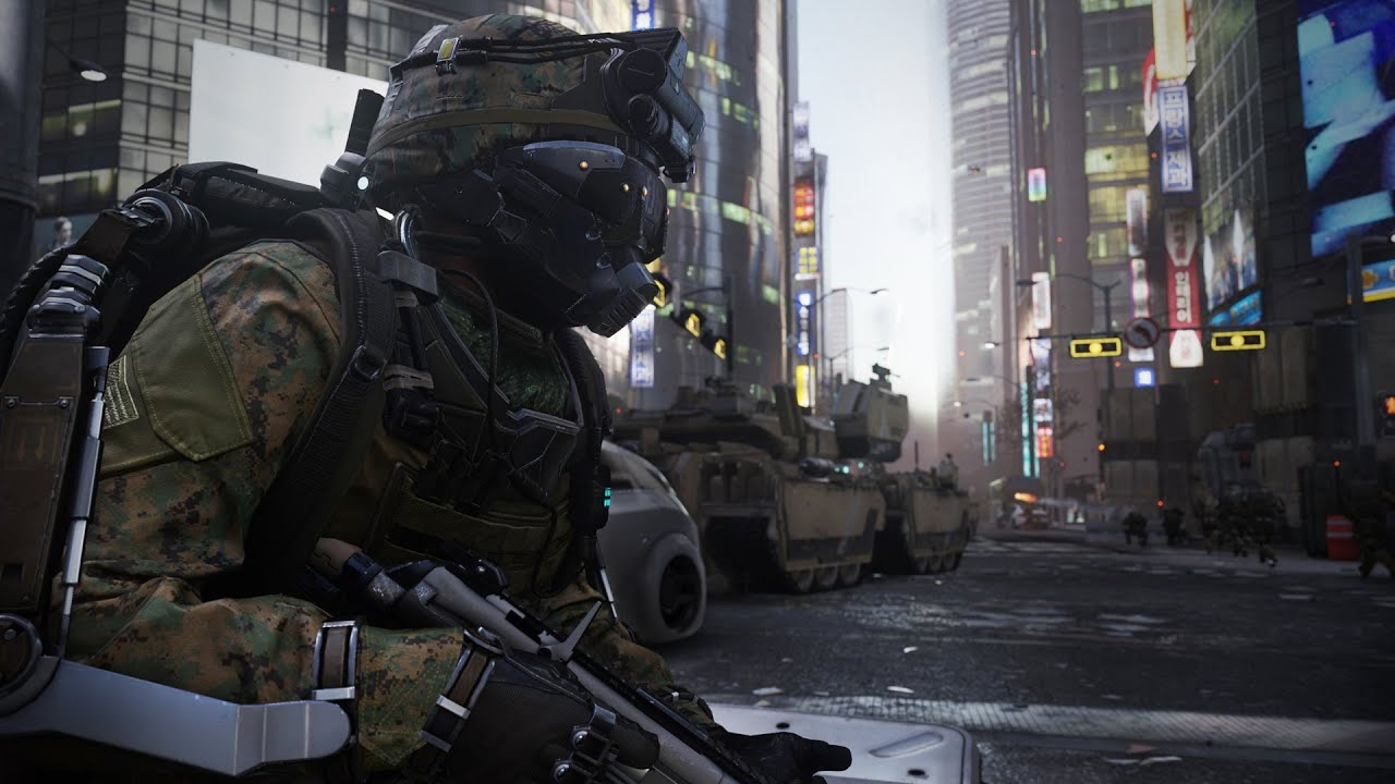 Call Of Duty Advanced Warfare Induction Gameplay Video System Requirements