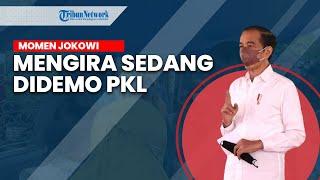 Dikira Sedang Didemo, Jokowi Datangi Pedagang Kaki Lima dan Beri Tambahan Modal