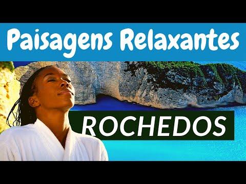 ? Vídeos Relaxantes - Lindas Paisagens do Mar e Rochedos (Motivação de Cristo)