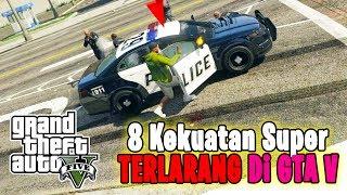 GTA V Mod Indonesia   8 KEKUATAN SUPERHERO YG TERLARANG 😂
