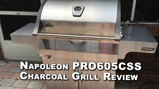Napoleon PRO605CSS Charcoal Grill Review