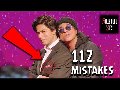 [PWW] Plenty Wrong With FAN Movie (112 MISTAKES) | Bollywood Sins #22