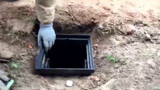 French drain How to Tips - Catch Basin Install