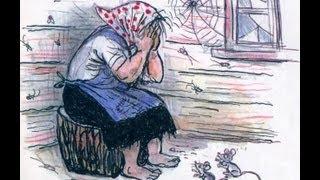Смотреть онлайн Диафильм «Федорино горе», озвученный