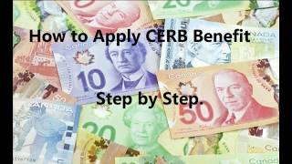 How to apply CERB online, step by step
