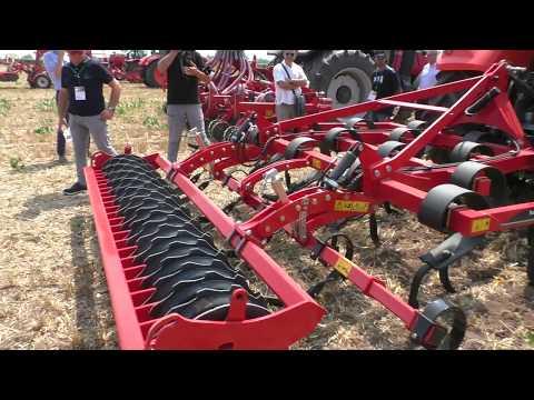 Coltivatore Kverneland Turbo: prova dimostrativa