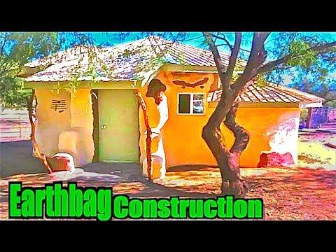 Earthbag/SuperAdobe House Construction