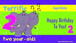 Kidzone - Happy Birthday To Two Year Olds