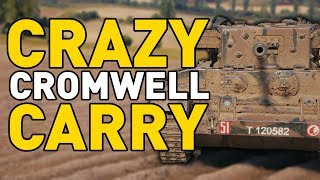 CRAZY CROMWELL CARRY in World of Tanks