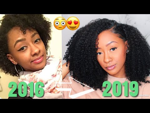 MY NATURAL HAIR JOURNEY (2016-2019) | Mia Nicole