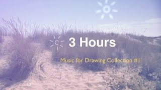 Drawing Music and Drawing Music Playlist: Drawing music instrumental of music for drawing playlist