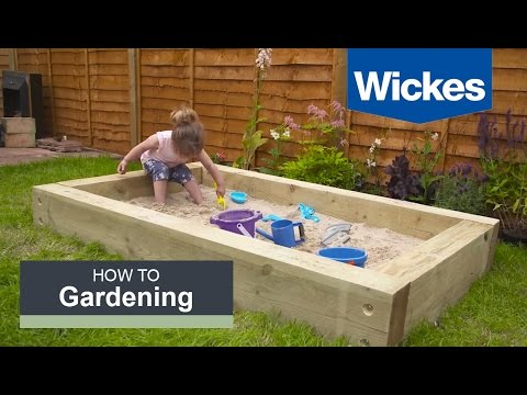 How to Build a Sandpit with Wickes