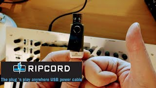Ripcord - My Review of the plug and play USB to DC Power Cable