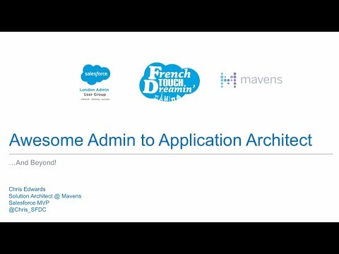 Awesome Admin to Application Architect ...And Beyond! - YouTube