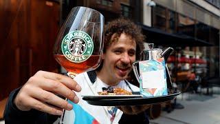 Así es el Starbucks MÁS LUJOSO del mundo   Starbucks VIP ☕️💰