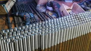 Фундаментный анкерный болт м20х710 тип 1.2 изогнутый ГОСТ 24379.1-2012 сталь 3пс2 от компании АК Болт и Гайка - видео