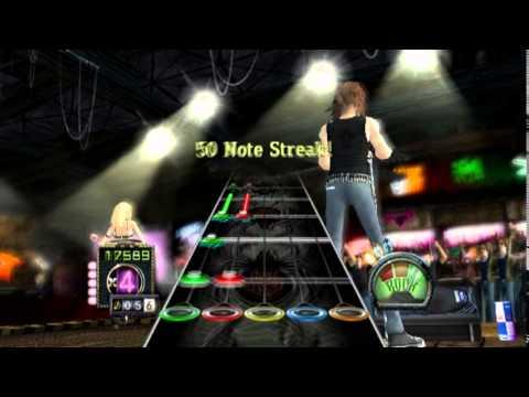 Guitar Hero III: Legends of Rock (PS2 Gameplay)