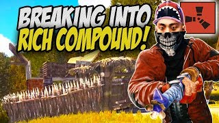 Breaking Into a Rich Decaying Compound! - Rust Solo Survival Gameplay