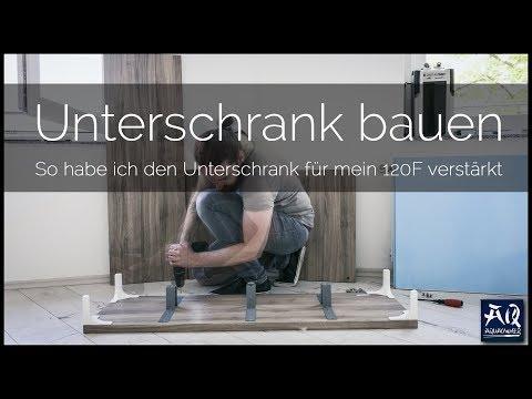 UNTERSCHRANK FÜR DAS 120F BAUEN | IKEA BESTA Schrank verstärken für ein Aquarium | AquaOwner