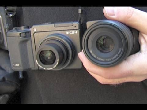 Olympus E-P2 und Ricoh GXR - Kompakte Digitalkameras mit Wechseloptik