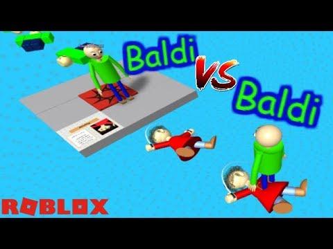 Baldis Basics 3d Morph Rp Baldis Basics In Education And Learning 3d Roblox Map 2 - Baldi Vs Baldi Who Will Win The Weird Side Of Roblox