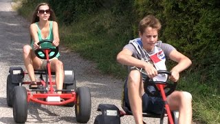 preview picture of video 'Kinder- & Gartenfest 2013, Go Kart, Teil 01'