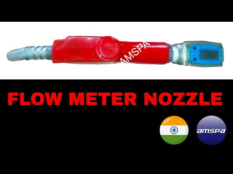 Electronic Diesel Flow Meter Nozzle