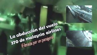 ABDUCCION DEL AVION 370 DE MALASIA videoanalisis