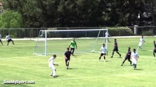 Grant Sampson #12 FRAM BU 17 Premier 2012 Soccer Highlights