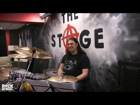 Drumming lesson with Stoil Ivanov and Svetoslav Bachev