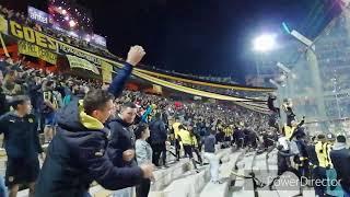 Hinchada De Peñarol Vs. Cerro MUGRIENTO / Ap. 2019 / Campeon Del Siglo / Sayago Oro Y Carbon