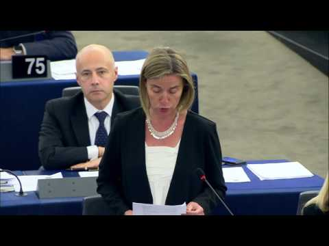 Opening statement by Federica Mogherini at the EP on the situation in Venezuela
