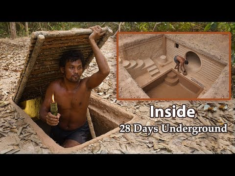 Man Builds an Underground House With a Pool