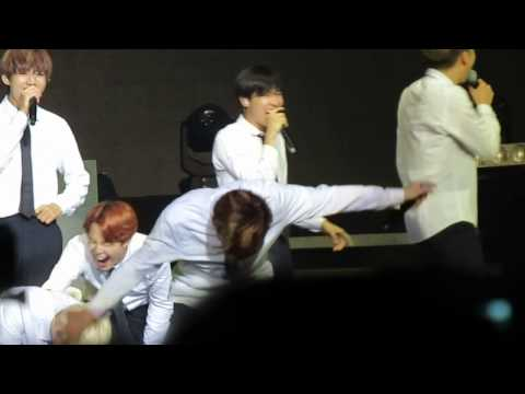BTS THE RED BULLET IN CHILE (TRB) - LOOK HERE CUT (SUGA AEGYO)