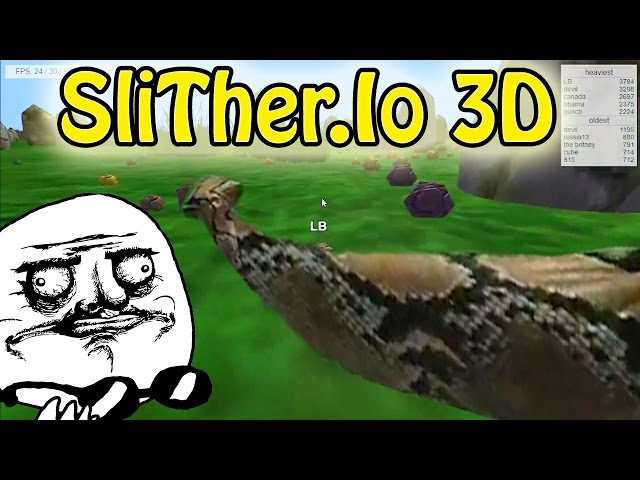 Snakes 3D Video 1