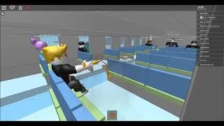 Ужасная авиакатастрофа в Roblox (клип)