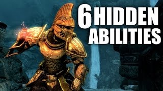 Skyrim - 6 Hidden Abilities