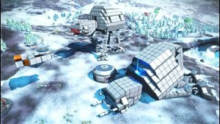 No Man's Sky - Never tell me the odds! Hoth Battle Base by Hoboxia