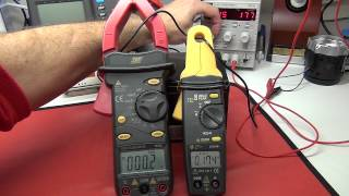 Multimeter Review / buyers guide: GTC CM100 1 mA to 100 A Low Current Clamp Meter