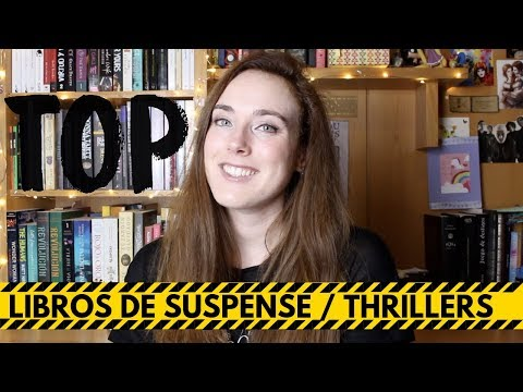 MI TOP 5 LIBROS DE SUSPENSE / THRILLERS