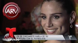 La ex de Chicharito rompe el silencio | Al Rojo Vivo | Telemundo