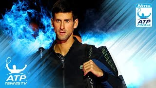 Djokovic eases past Isner; Zverev edges Cilic | 2018 Nitto ATP Finals Highlights Day 2