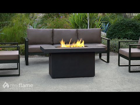 Real Flame - Ventura Rectangle Fire Table