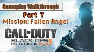 Call Of Duty Black Ops 2 Gameplay Walkthrough Part 7 - Mission 5 - Fallen Angel