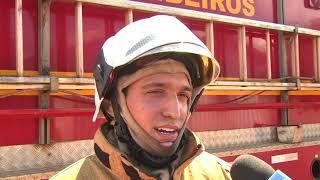 Curto-circuito pode ter provocado incêndio em residência no bairro Novo Horizonte