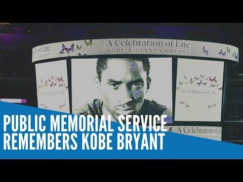 [Inquirer]  Public memorial service remembers the private Kobe Bryant